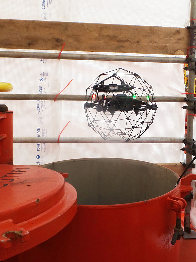 Pioneering Unmanned Inspection of North Sea FPSO Cargo Tank