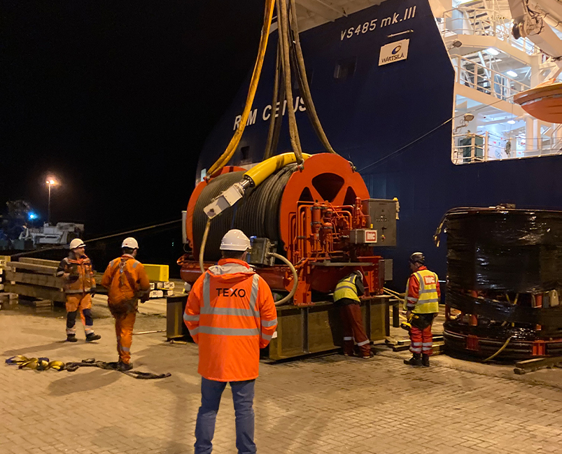 Texo Port Services slide