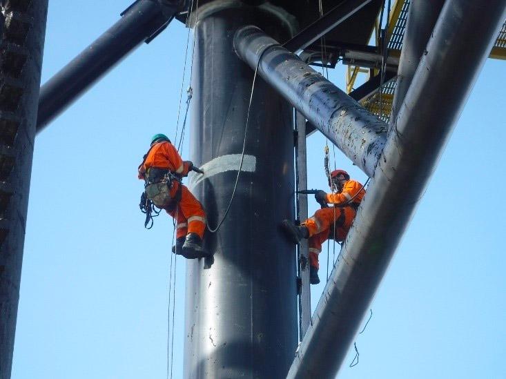 Texo Integrity+ Inspects Wind Installation Vessel