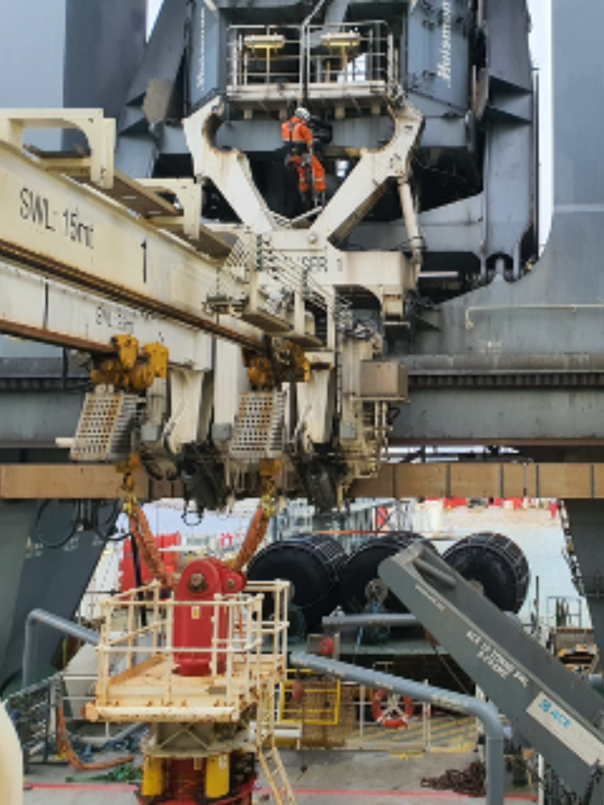 DROPS survey for berthed vessel in Norway